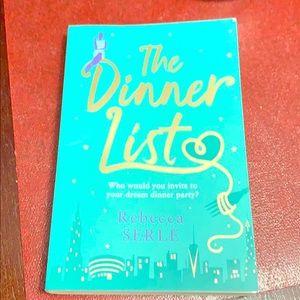 The Dinner List by Rebecca Serle brand new